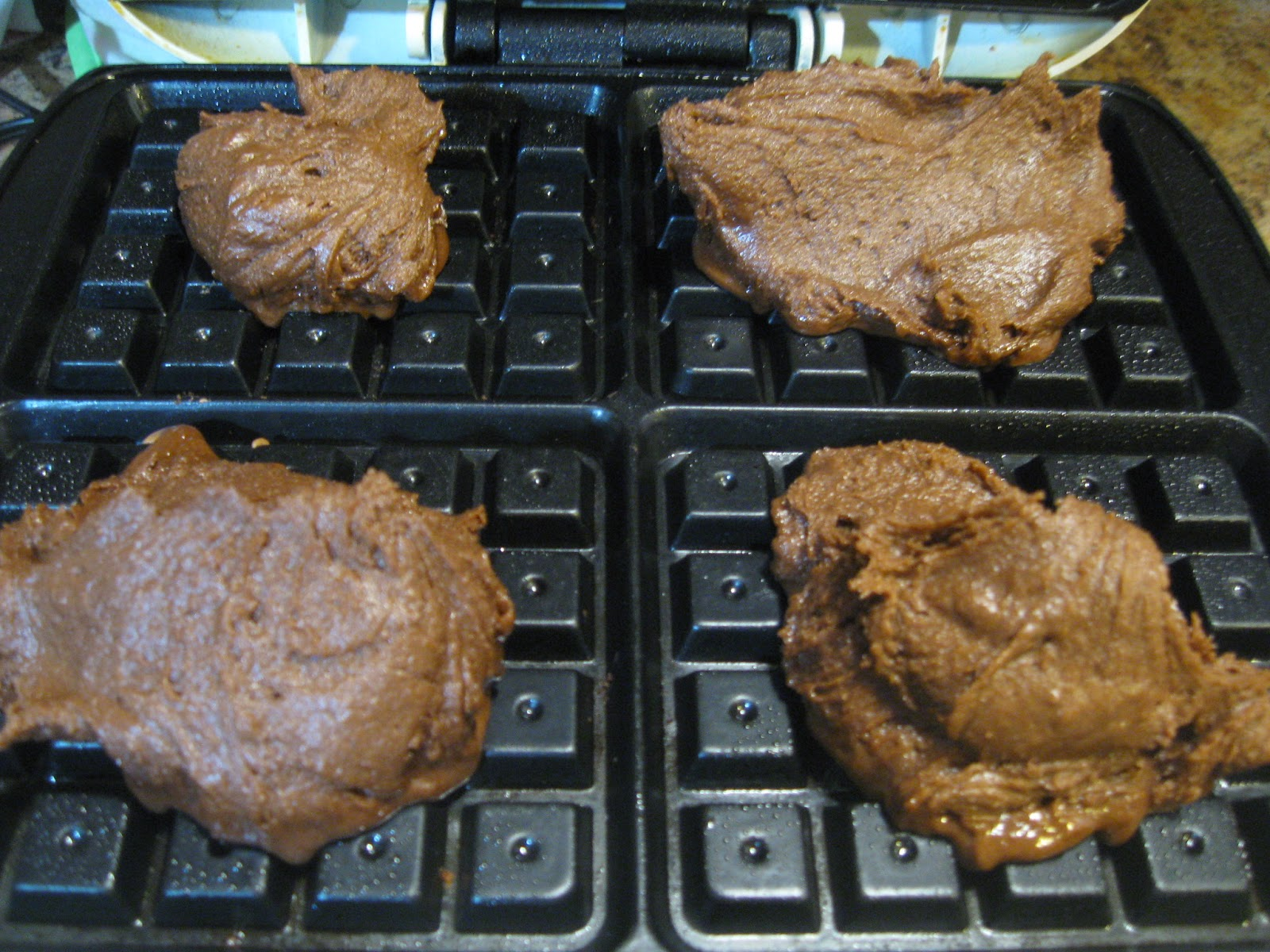 THE REHOMESTEADERS: Waffle Iron Brownies