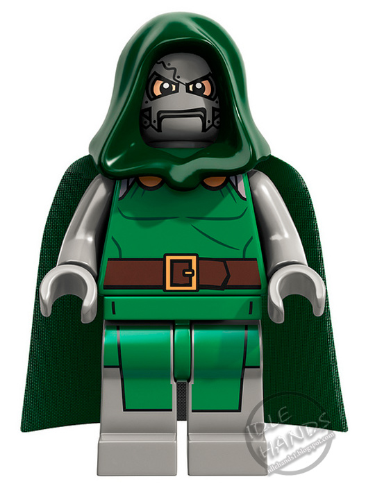Lego in 2013 legion of mini super heroes