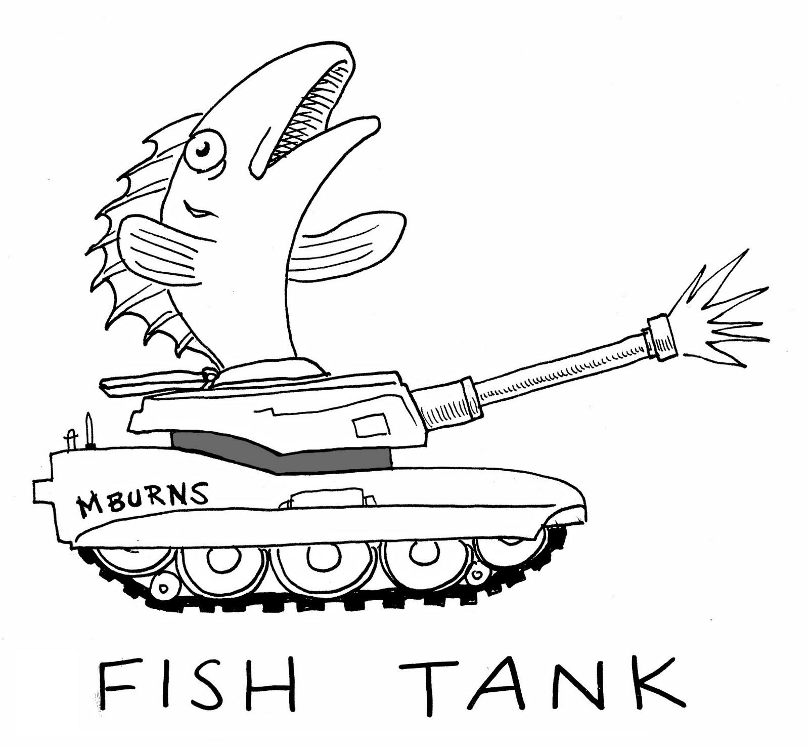 Fish tank drawing pictures - Fish Tank Soul Mates Step Ladder