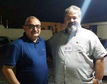 Com o Rev. Paulo Brasil