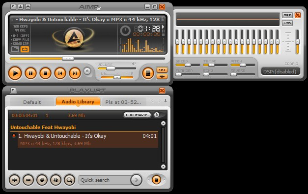 Download Gratis AIMP Alternatif Winamp Terbaru 2015