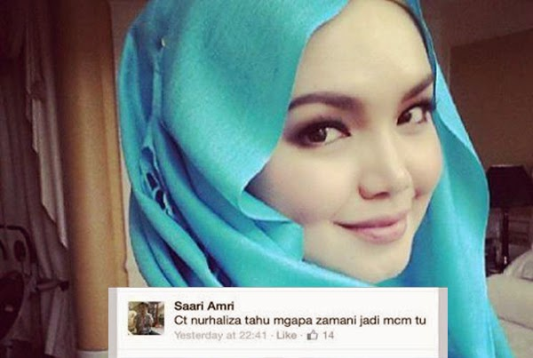 Siti Nurhaliza Tahu Kenapa Zamani Jadi Begitu