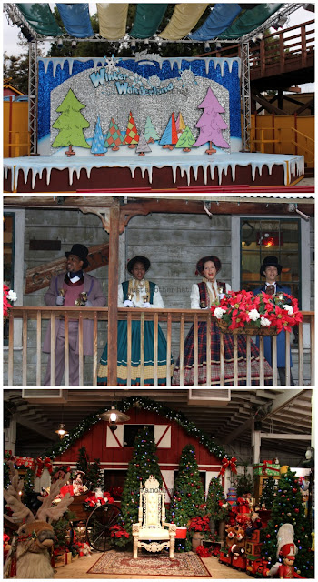 knotts winter wonderland holiday decoration
