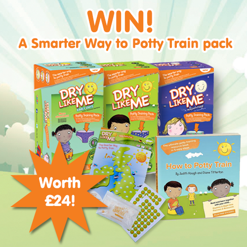 dry like me potty training competition prize