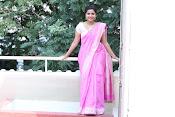 Swathi Dazzling in Pink saree-thumbnail-8