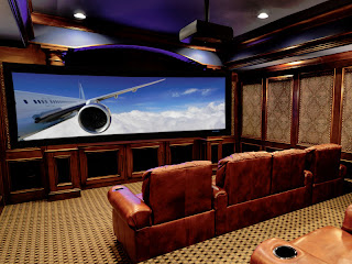 Home theater in kerala homes