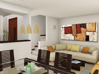 Pinturas modernas para casas - Pinturas modernas para sala ...