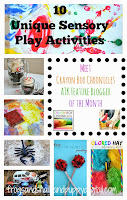 10 Unique Sensory Play Activities from Crayon Box Chronicles