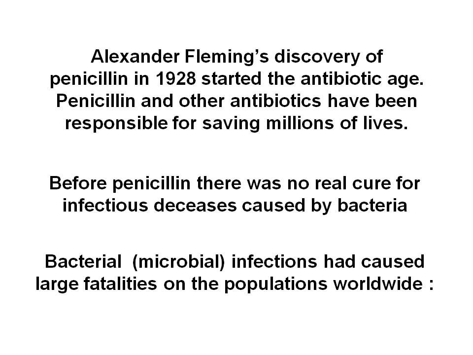alexander fleming and penicillin essay Alexander fleming inventions and accomplishments born in scotland in the late 19th century, he wrote numerous papers about immunology, chemotherapy right after the invention of penicillin, fleming noticed that antibiotic resistance was a major problem during his early experiments.