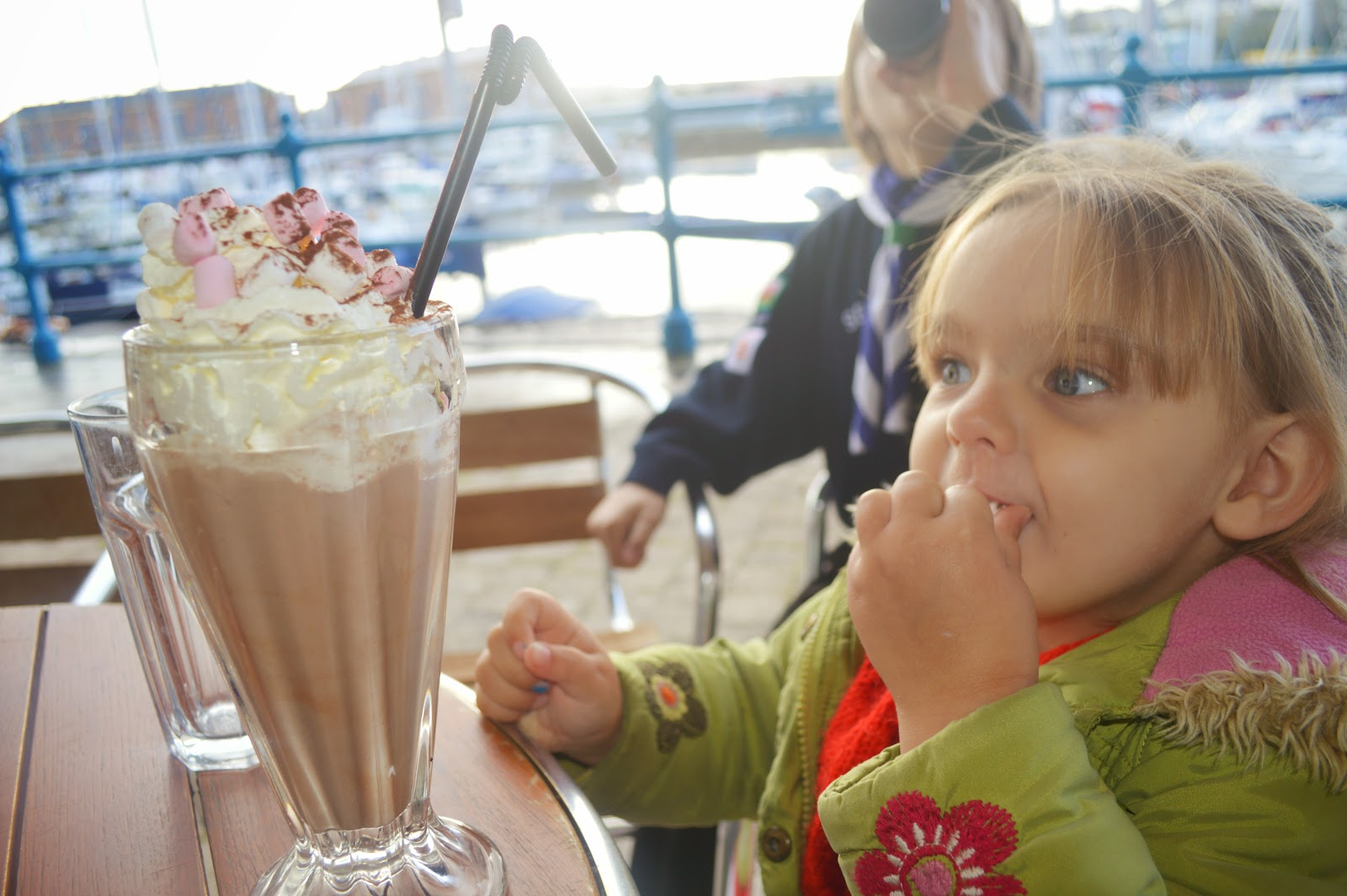 Hot Chocolate Milford Marina Pembrokeshire