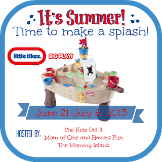 Enter by July 8th for your chance to win a Little Tikes Pirate Table #Summertime