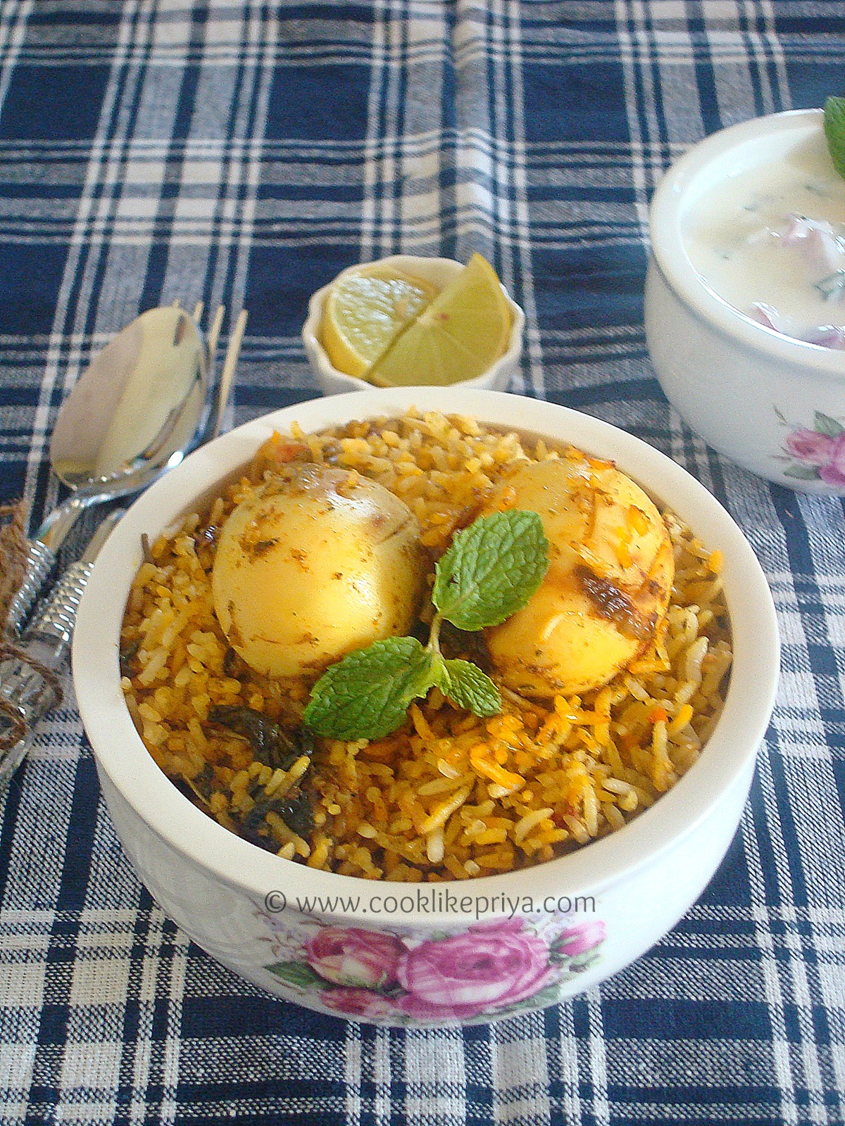 hyderabad egg biryani