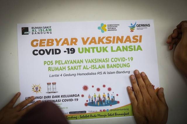 Begini Cara Daftar Vaksinasi untuk Lansia