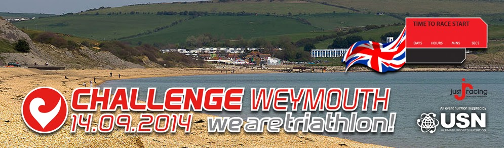 Challenge Weymouth Full Timetable of Events Sunday 14th September 2014