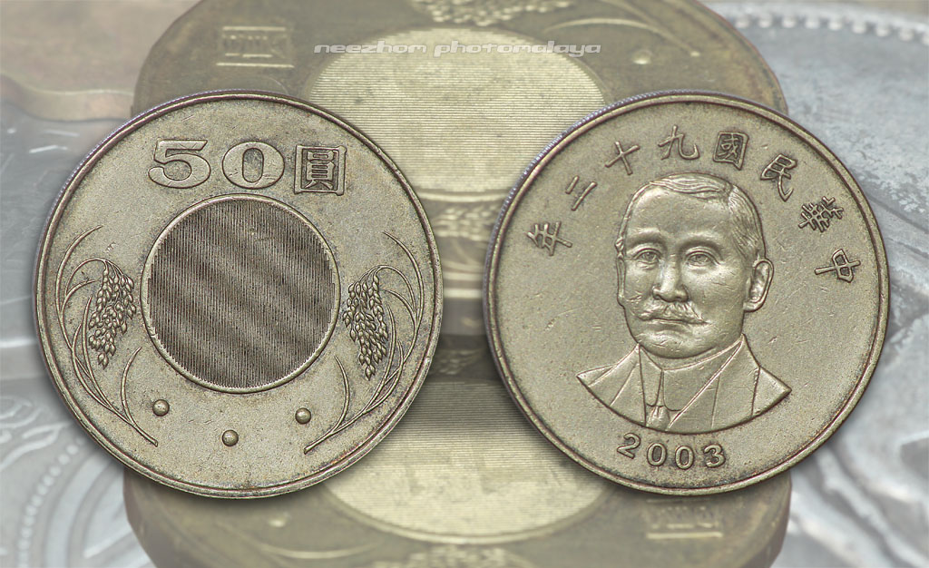 Koleksi duit syiling China dan Hong Kong