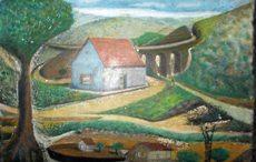 Pinturas de Francisco Ortiz Leoni, padre del poeta
