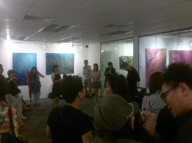 Live performance by Andy YAng, Abstract Innovations,  Singapore, One East Asia Gallery