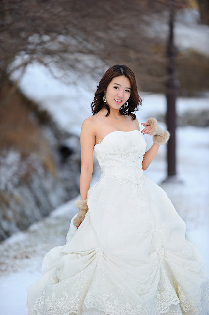 Yoon Joo Ha - White Wedding Dress