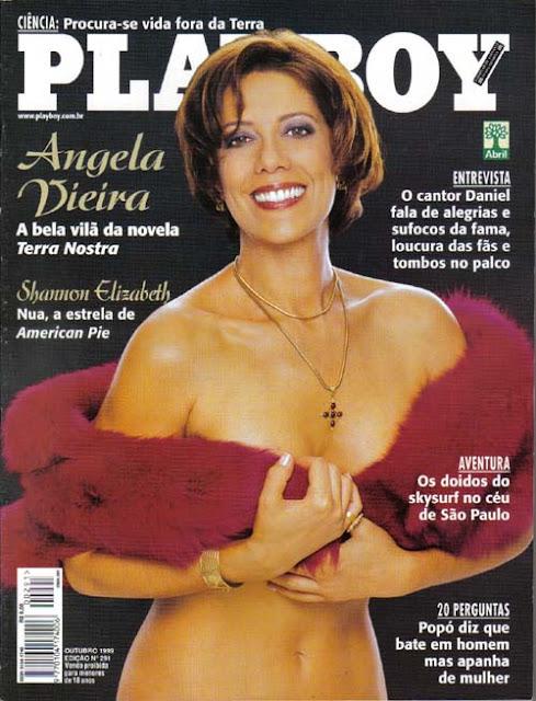 Angela Vieira - Playboy 1999