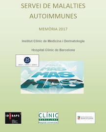Servei de Malalties Autoimmunes-Memòria 2017
