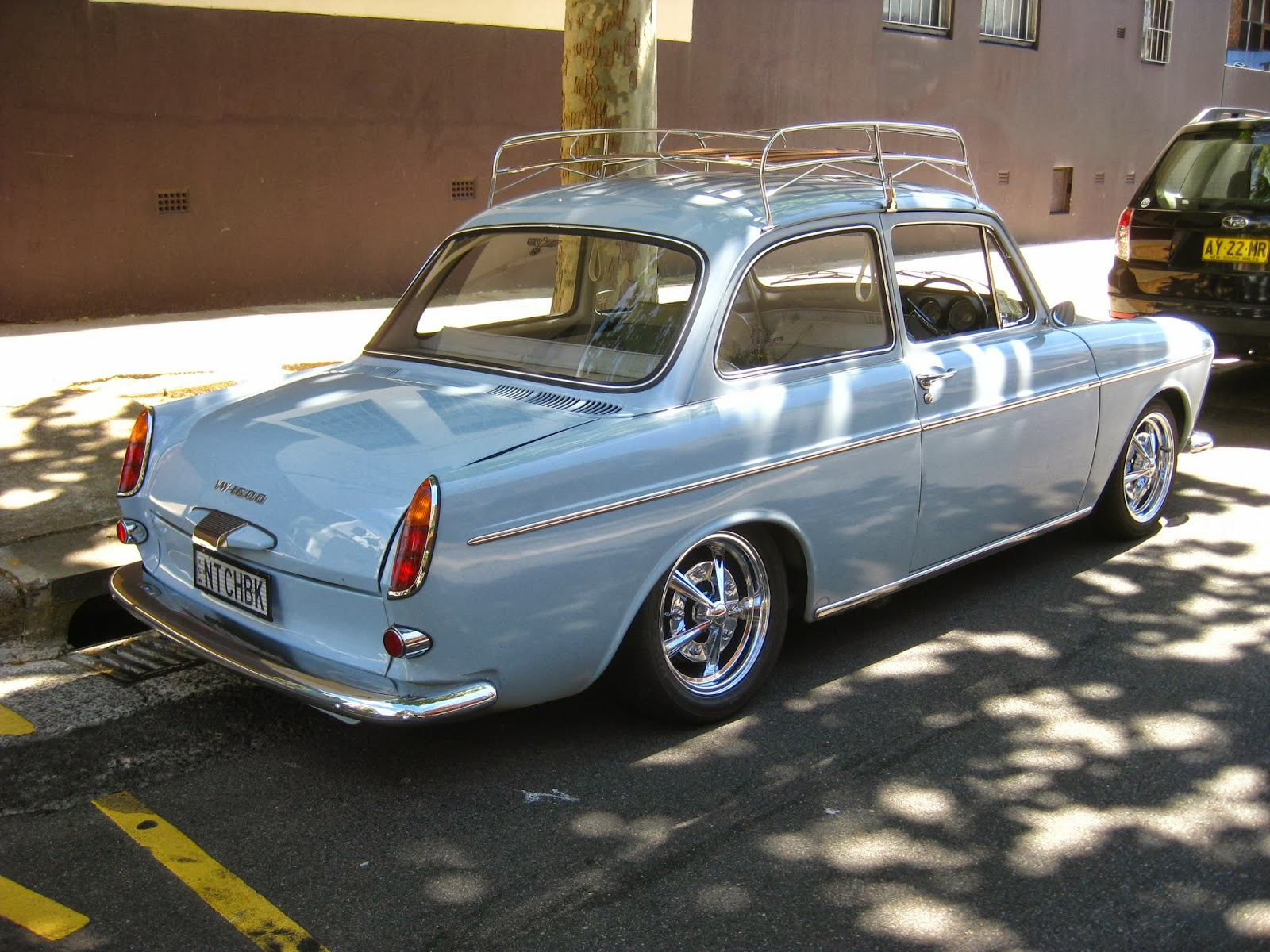 aussie old parked cars 1967 volkswagen type 3 1600 notchback. Black Bedroom Furniture Sets. Home Design Ideas