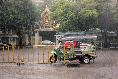 Tuk Tuk em Bangkok (Tailândia)