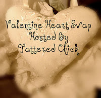 Tattered Chick Valentine Heart Swap