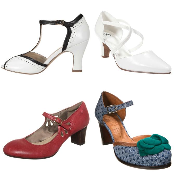 trend scarpe primavera 2015 retrò vintage