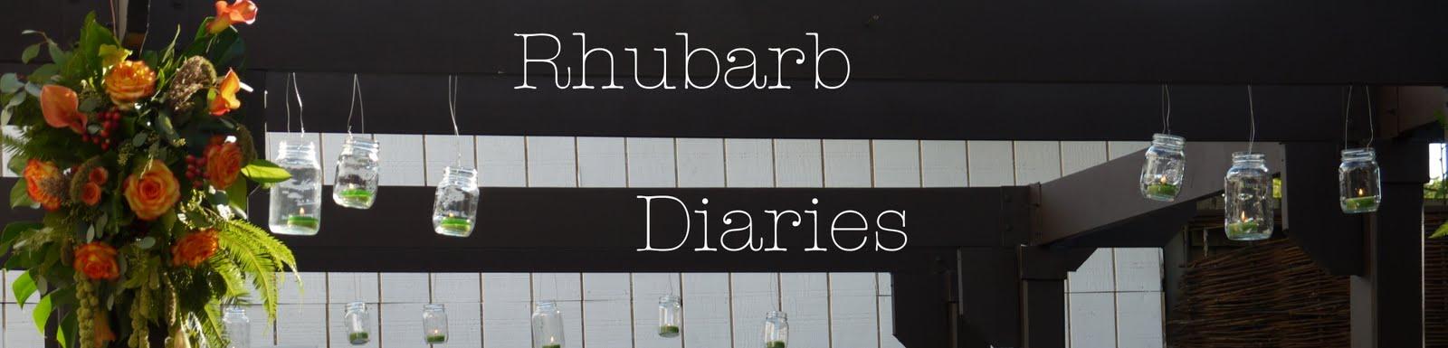 Rhubarb Diaries