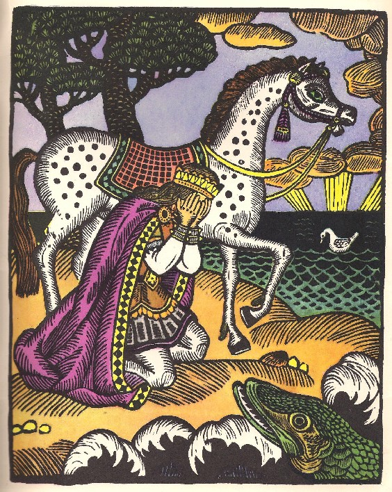 fairy tale, illustration, horse, Prince