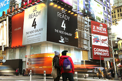 Samsung Galaxy S4 Venue Billboard