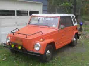 1973 VW THING $5,900