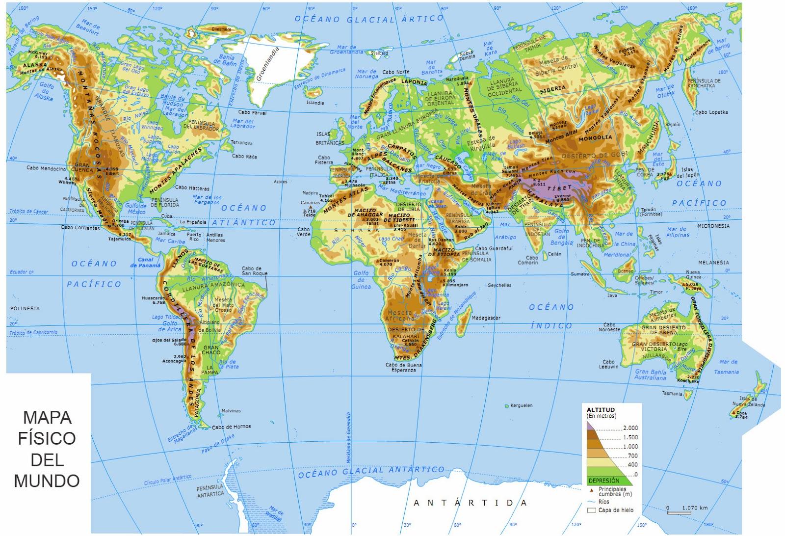 Ccss1 1 geografia f sica for Mapa del mundo decoracion