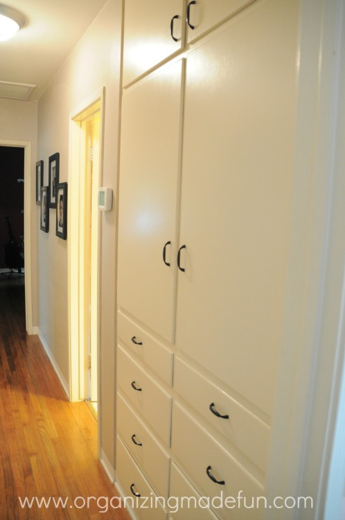 Www.organizingmadefun.com. I Have This Great Built In Linen Closet ...