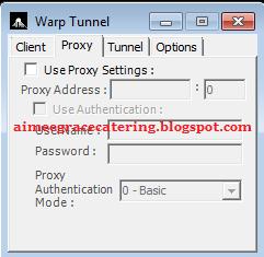 SSH Warp Tunnel Client