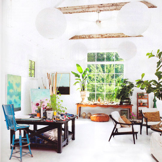 Wintergarten-Feeling: Pflanzen im Raum