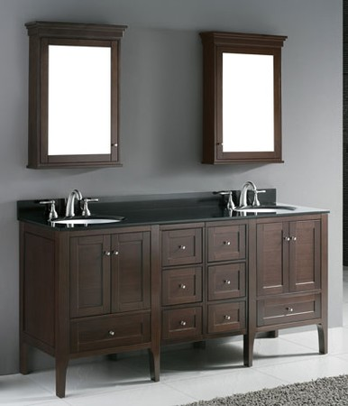 discount bathroom vanities why double sink vanities gaining so much