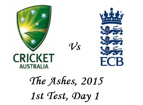 The Ashes 2015 Eng vs Aus 1st Test