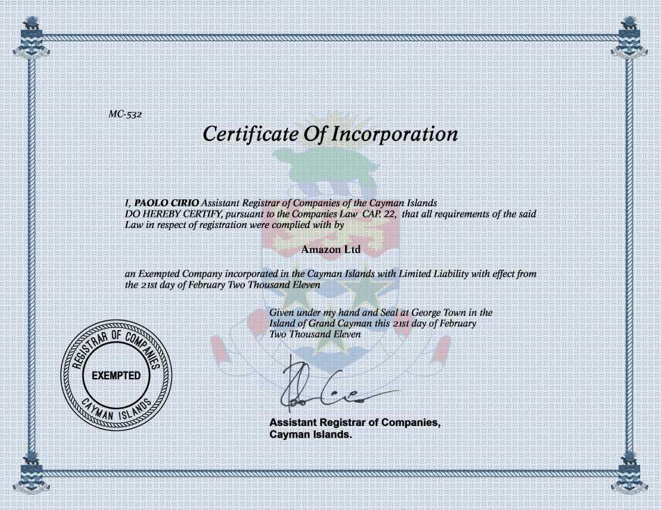 Cayman Island Companies Register