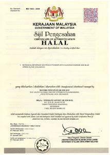 Sijil Halal Cellmaxx