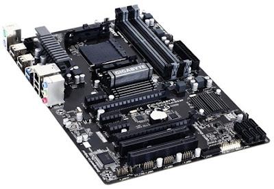 A placa-mãe Gigabyte GA-970A-DS3P pode ser encontrada por R$ 480