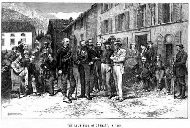 Monte Rosa Hotel Zermatt 1864