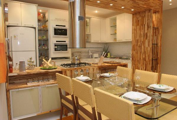 Cozinha e sala conjugada ideias de decora o reciclar e for Sala de 9 metros quadrados