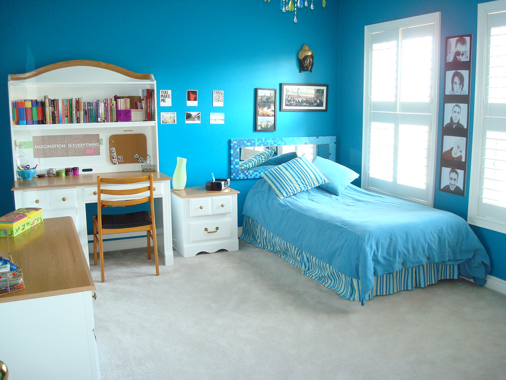 Wild teen bedroom ideas photograph blue bedroom Blue teenage bedroom