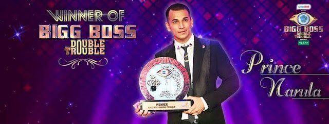 Prince Narula wins Bigg Boss Double Troule Season