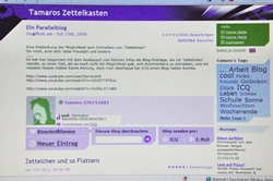 'Tamaros Zettelkasten'...