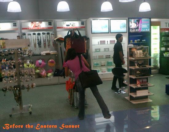 Shopping in NAIA Terminal 3