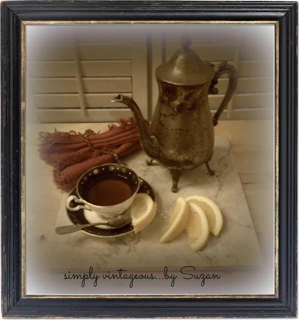 Suzanne, leonard cohen, tea, oranges, old montreal, brass teapot,