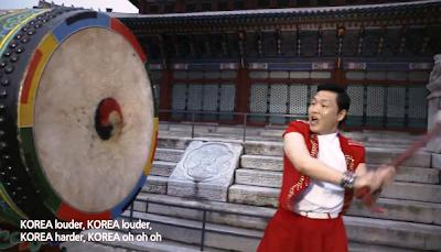 Psy Korea drum