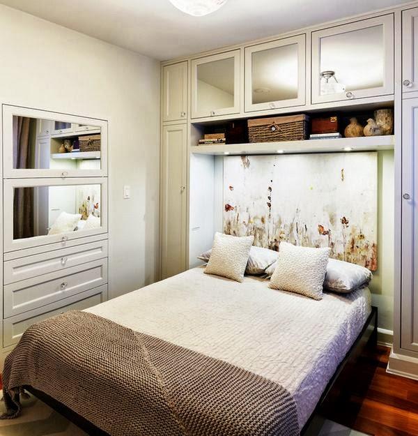 Fotos con ideas para decorar un dormitorio peque o - Colores para dormitorios pequenos ...